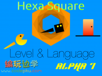 (Alpha 7 FIXED) Hexa Square codePKu Version